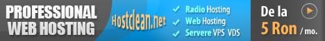 HostClean.Net - Servicii Web, Domenii Web, Gazduire Web, Reseller Radio, Gazduire Radio, Servere Radio, Licente, Servere Gaming, Servere Vps, Cu Plata Prin SMS